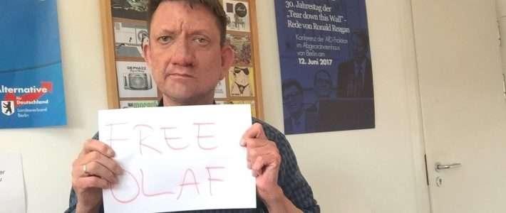 Freiheit für Olaf Kampmann