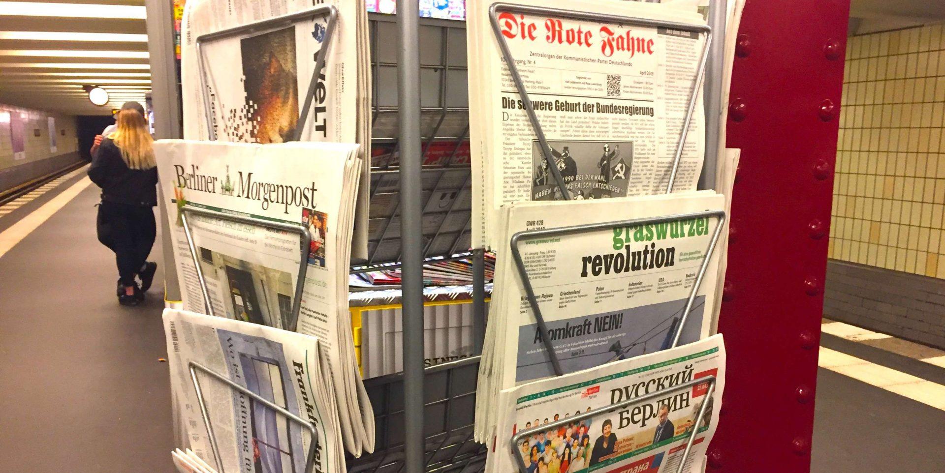 Pressefreiheit darf nicht nur auf dem Papier herrschen
