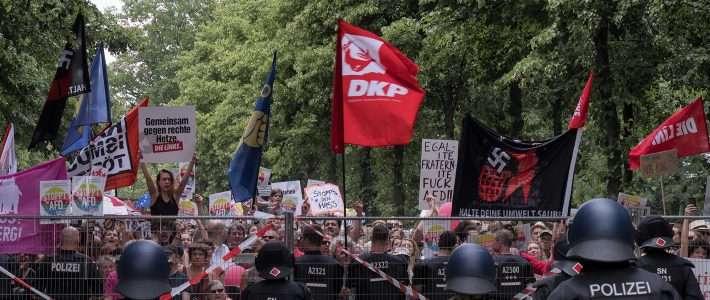 Politische Gewalt kommt in Berlin meistens von links