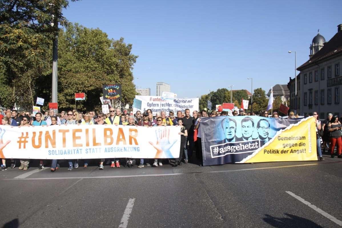 Unheilbar: Gutmenschen demonstrieren in Berlin (Video)