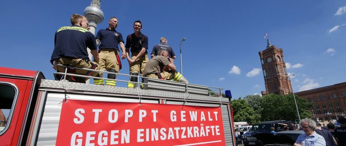 Polizei und Feuerwehr: Wir sagen danke!