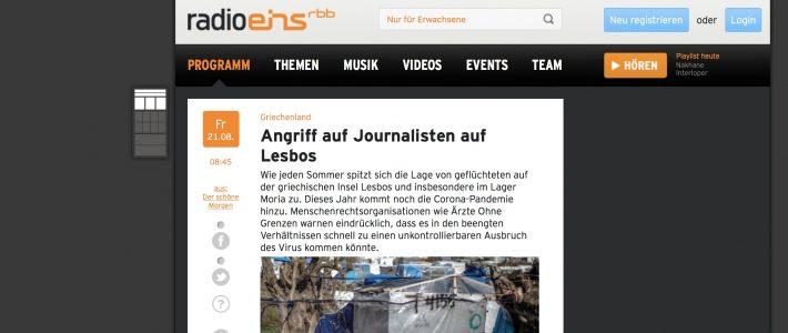 Radioeins: Ist das noch Journalismus oder schon PR?