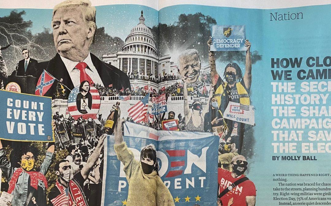 Time Magazine enthüllt Verschwörung gegen Trump